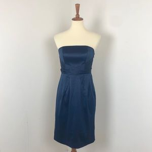 Banana Republic | Satin Strapless Cocktail Dress